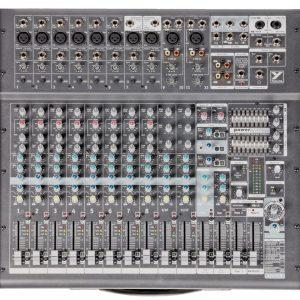 Yorkville PowerMAX2012 2000w, 12 inputs Mixer/Amp