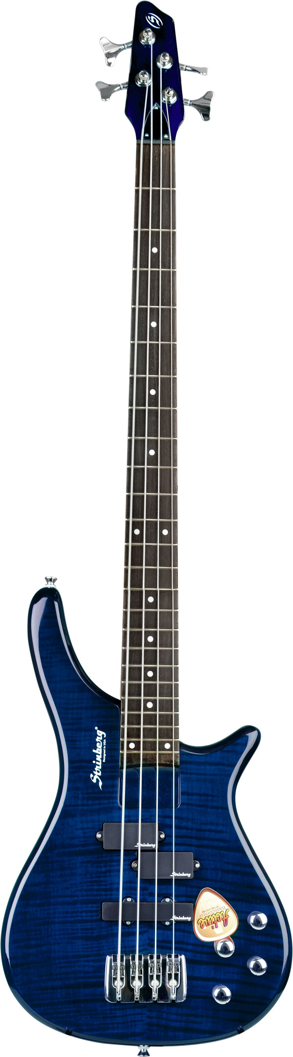 Strinberg El Bass Trans Blue